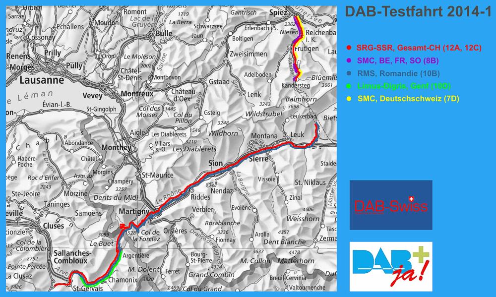 Dab Sender Karte.Dab Schweiz Digitalradio Schweiz Dab Suisse Dab