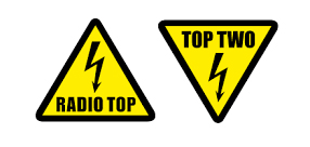 radio top top two logos